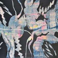 Bewegungslinien 100 x 150 cm