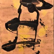 Black Bird, 80 x 120 cm