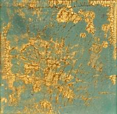 Goldstaub 1, 20 x 20 cm