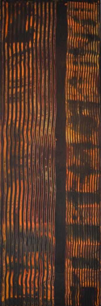 Braunes Gebälk, 50 x150 cm