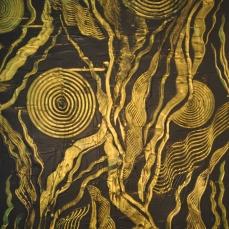 Goldener Garten 1, 100 x 200 cm