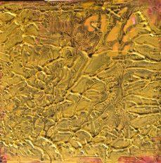 Gold Rosé 2, 20 x 20 cm