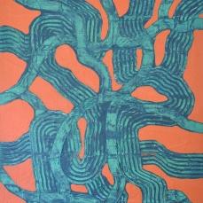 Lebensbaum, 100 x 150 cm