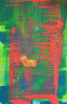 Reflektion, 100 x 150 cm