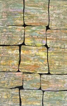 Sortierte Steine 1, 100 x 150 cm