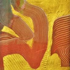 Terrakotta-Gold 2, 40 x 50 cm