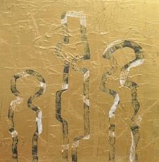 Trio, 100 x 100 cm