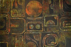 Weibliche Elemente, 150 x 100 cm