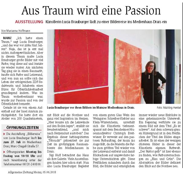 2018-06-05_Allgemeine_Zeitung_Mainz-Artikel-Brauburger